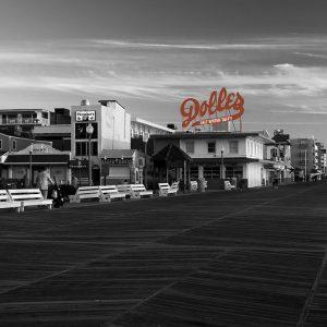 Boardwalk, Rehoboth Beach, Delaware.