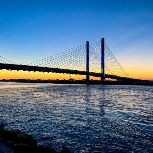 Indian River Inlet Bridge, Delaware.