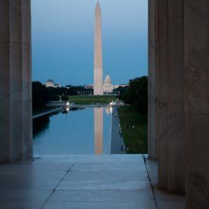 Washington Monument and U.S. Capitol