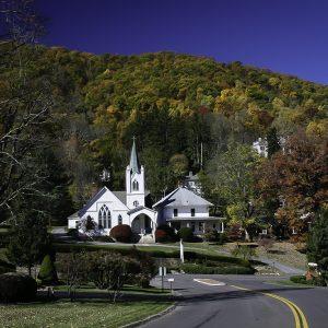 Shrine of the Sacred Heart, Hot Springs, Virginia.