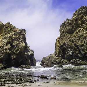 Pfeiffer Beach, California.