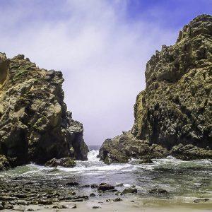 Pfeiffer Beach, California.