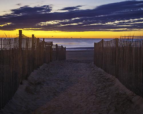 Sunrise, Rehoboth Beach, Delaware.